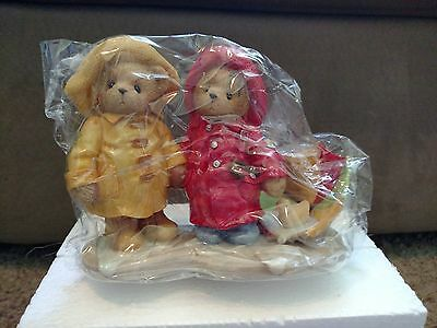 """Cherished Teddies - Joey and Lindsey """"We Can Weather Any Storm Together"""" #726621"""