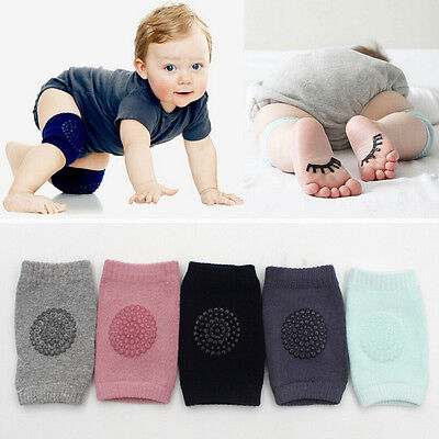 AU Baby Toddler Infant Crawling Knee Elbow Pad Kids Crawl Safety Protector