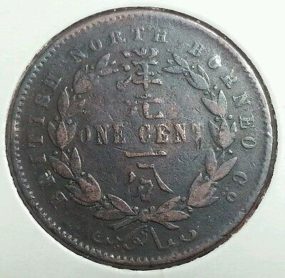 British North Borneo 1 cent 1888 H
