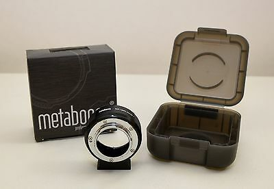 Metabones Nikon F Lens to Micro Four Thirds Camera T Adapter