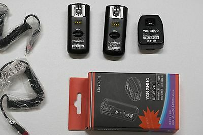 Yongnuo RF-602/C RF602 RX 2.4GHz Wireless Remote Flash Trigger for Canon DSLR