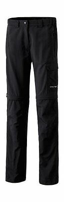 Erima Ladies Zip trousers Size 34 36 38 40 42 44 46 De size 48 black Trekking