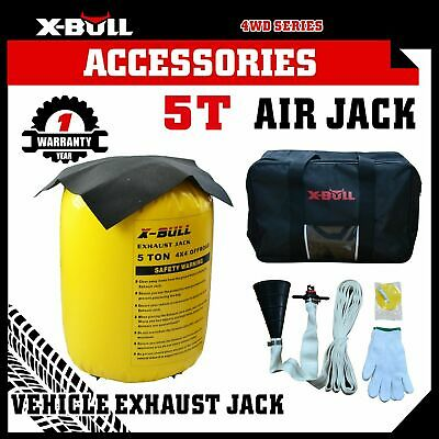 X-BULL Exhaust Jack Air JackTools 5 Tonne Multi Layer 4x4 Off-Road Truck Balloon