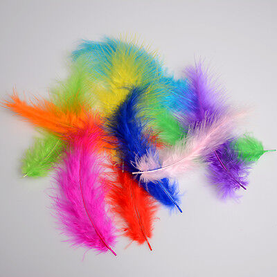 Beautiful 100pcs Decorating Rooster Tail Feathers 12-18cm 4.5-7Inch 11 Colors