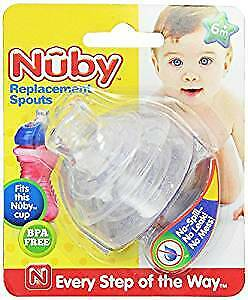 Baby Feeding - Nuby - 2pc Super Spouts Replacements 9955