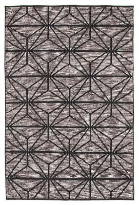 Rhythm Motif Charcoal Rug Modern Rugs Floor Carpet Home