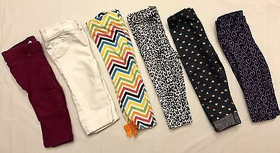 Girls Toddler Baby Infant Pant Set (Lot Of 6) Size 12 Months