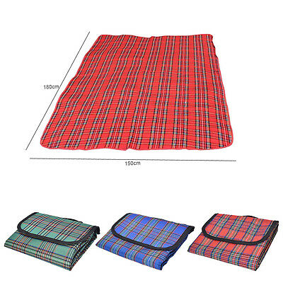 Waterproof 80*150cm Outdoor Beach Camping Picnic Moistureproof Mat Blanket BH