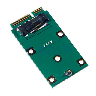 M.2 NGFF SSD to Mini PCI-E mSATA Adapter Card Replacement Converter WS