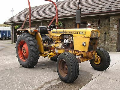 1974 David Brown 885 Tractor