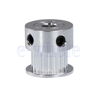 20T 5mm Bore 16mm Height Gt2 Aluminum Drive Pulley For Diy 3D Printer New WS