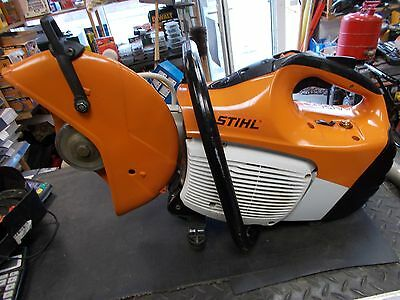 stihl ts410 with new diamond blade