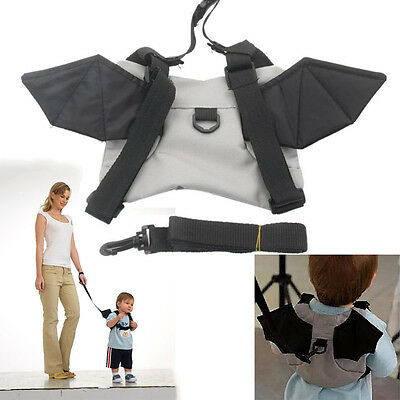 New Baby Child Toddler Bat Walking Safety Harness Backpack Walker Anti-lost