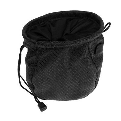 (Black) - Jili Online Portable Pocket Golf Ball Washer with Belt Hook - Golf Bag