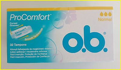 O.B. Pro Comfort Tampons Normal Light Flow - 1 Pack of 32 tampon OB
