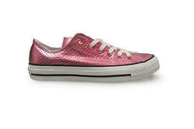 Girls Converse Ctas OX Chuck Taylor All Star Plastic Pink Ladies Converse