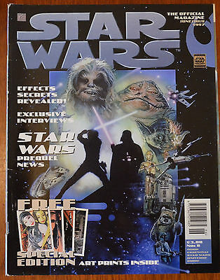 Star Wars The Official Magazine No.8 June/July 1997 inc. Art Prints