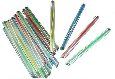 2500 Disposable Bubble Tea Straws , Super Jumbo Straws, Plastic Straws