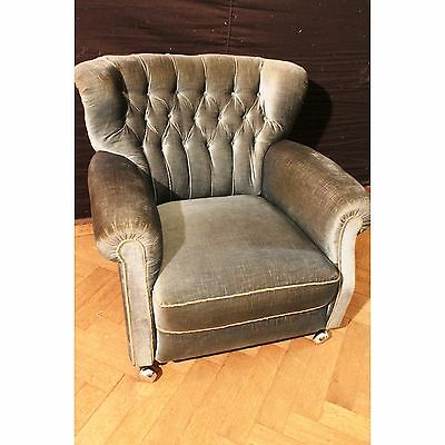 Antik Alte Chippendale Sitzgarnitur Sessel Couch English Couch Top Zustand Rare