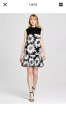 Victoria beckham for target daisy flower dress whiteblack drop victoria beckham for target daisy flower dress whiteblack drop waist small mightylinksfo