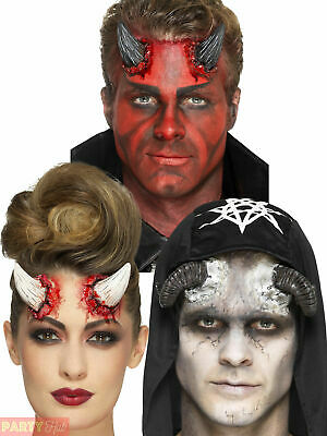 Halloween Latex Prosthetic Accessories Devil Horn Fancy Dress Costume Accessory