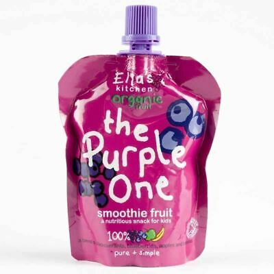 ELLA's KITCHEN | The Purple One -smoothie fruit | 1 x 90g