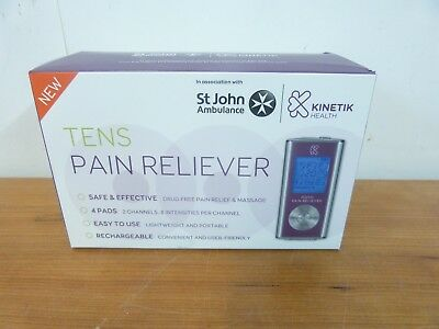 Kinetik Health Tens Pain Reliever Brand New 42674/42673/42672/5