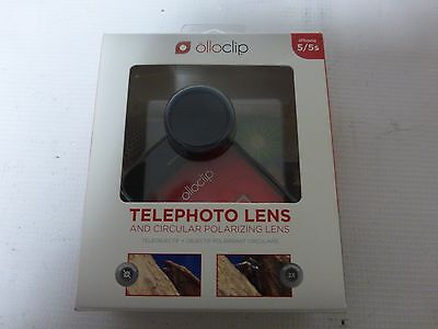 Olloclip iPhone 5 5S - Telephoto And Circular Polarizing Lens - Black
