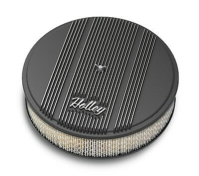 Holley Performance 120-156 Round Finned Air Cleaner