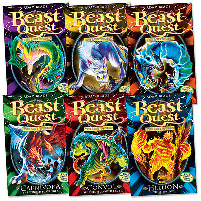 Beast Quest Series 7 Book Pack Collection (6 Books) RRP £29.94