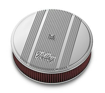 Holley Performance 120-155 Round Finned Air Cleaner