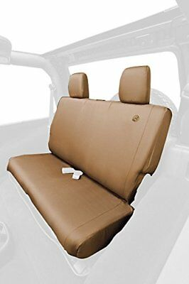 Bestop 29281-04 Bestop Seat Cover, Rear - Bench; Custom Fit; Waterproof Polyeste