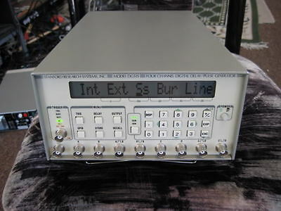 REPAIR ONLY of Stanford Research Systems DG535 Delay External CLOCK REPAIR ONLY!
