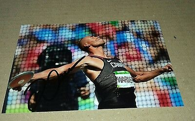 Damian Warner Signed (Canada)