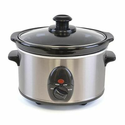 New 1.5l Slow Cooker Electric Food Cooking Pot Small Kitchen Appliance Device