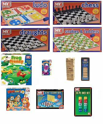 New Kids Range Traditional Board Games Childrens Family Games Toy Vintage Adults