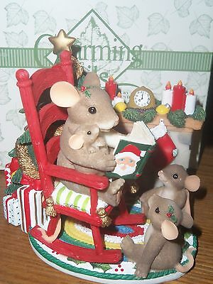 """Christmas Charming Tails By Fitz & Floyd """"Christmas Time Is Family Time"""""""