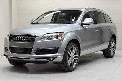 2008 Audi Q7 Premium Sport Utility 4-Door 2008 Audi Q7 4.2 Premium One owner clean Carfax third row seating super clean