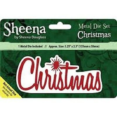 Sheena Douglass CHRISTMAS - Xmas Sentiment Dies