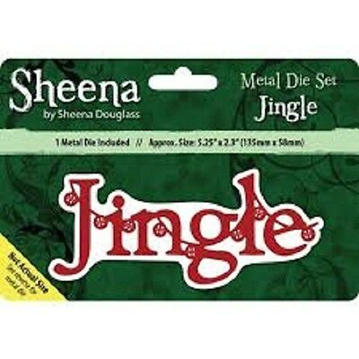 Sheena Douglass JINGLE - Xmas Sentiment Die