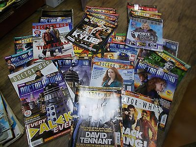 Doctor Who Magazine X 25 Job Lot-Cult Tv-Sci-Fi