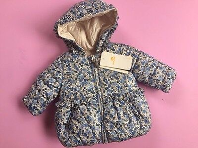 Designer MAYORAL Baby Girls Winter Reversible Coat 3 months WAS £38 NOW £19 SALE