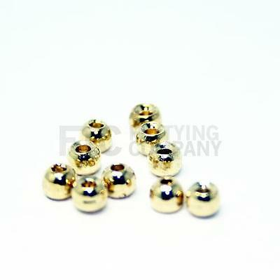 Gold Tungsten Beads | 1.5 - 3.5mm | Counter Sunk | Fly tying