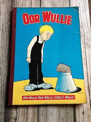 Oor Wullie 1970 Annual in Excellent Condition