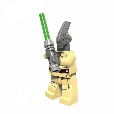 Coleman Trebor Jedi Star Wars Minifigure toy movie Clone Wars cartoon Rebels