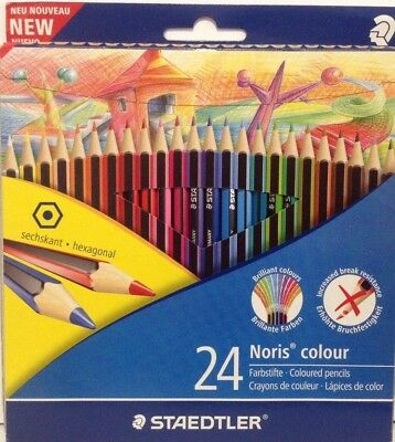 Staedtler Noris 24 colour pencils