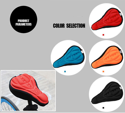NEW Cycling Bicycle Bike 3D Sponge Pad Seat Saddle Cover Soft Cushion By Air