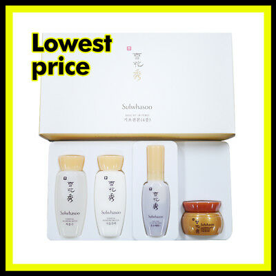 Sulwhasoo Basic Kit 4items (Essential Balancing Water/Emulsion) korea cosmetic