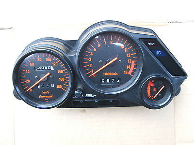Kawasaki Zzr250 Instrument Panel Good Cond