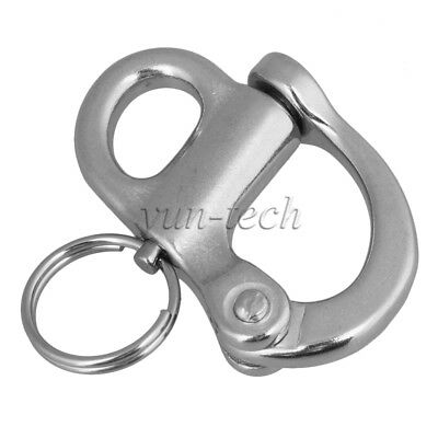 Stainless Steel Rigging Sailing Boat Yacht Marine Hard Bail Snap Shackle